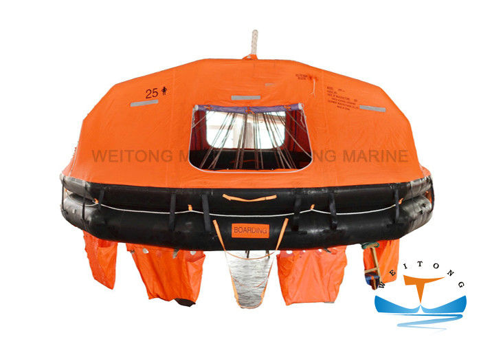 HDPE Material Davit Launched Lifeboat B Pack Type Convenient Boarding