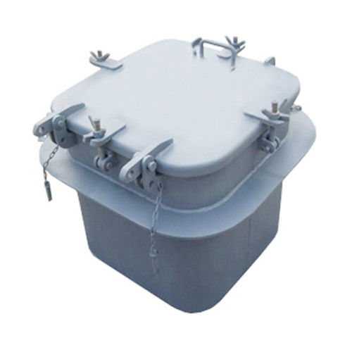 Small Steel Marine Hatch Cover Meets International Guideline ISO 5778-1994