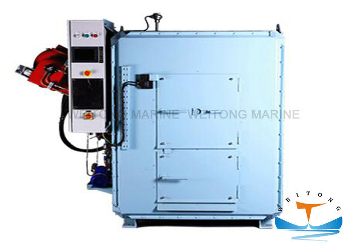Steel Marine Anti Pollution Equipment Solid Garbage Incinerator For Waste Oil