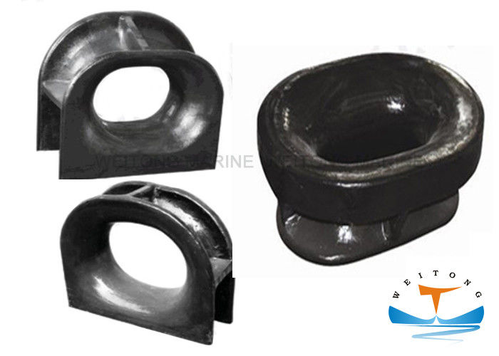 DIN 81915 Marine Mooring Equipment Black Painted Type C For Deck Mounted