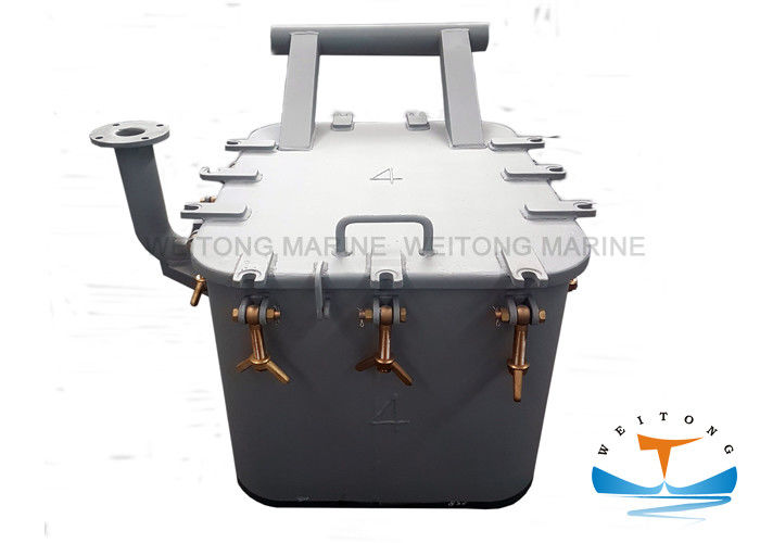 Quick Action Marine Hatch Cover Small Size 450x630mm Fast Opening And Closing